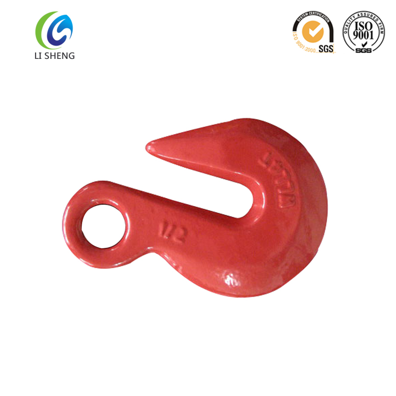 High quality drop forged eye grab hook