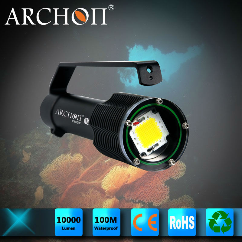High powerful diving flashlight 10000 lumen archon led torch wholesale