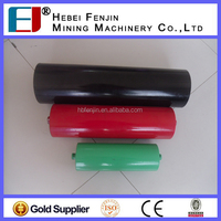 45 Degree Trough Angle Steel Pipe Transition Carrying Idler For Belting Conveyor System