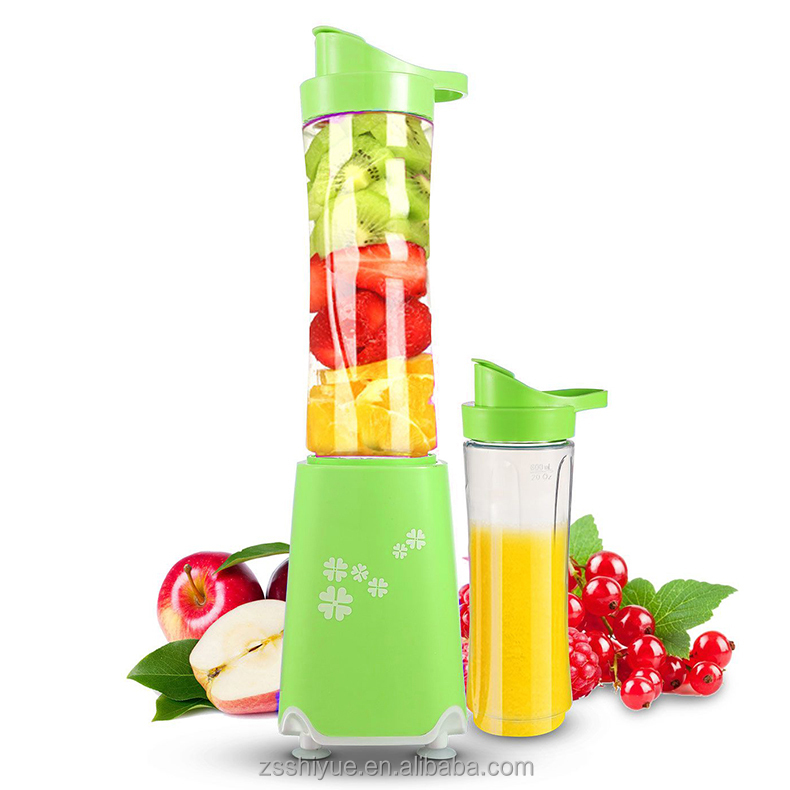 safety kitchen multi-function 250W stainless steel blades electric portable travel juicer personal mini blender