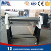 manual rolling machine bending 2.5mm steel plate to the small pipe