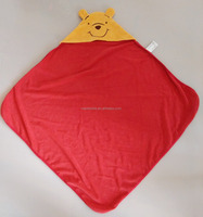 "100 Cotton Terry 30""*30"" Infant Blanket With a Hood"
