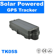 solar powered gps tracker with nonstop power and built-in rechargeable battery TK05S kingneed
