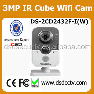 DS-2CD2432F-I hikvision wifi camera with sdk 64gb storage ip camera