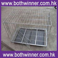 KA019 folding pet crate kennel wire cage for dogs\/cats o