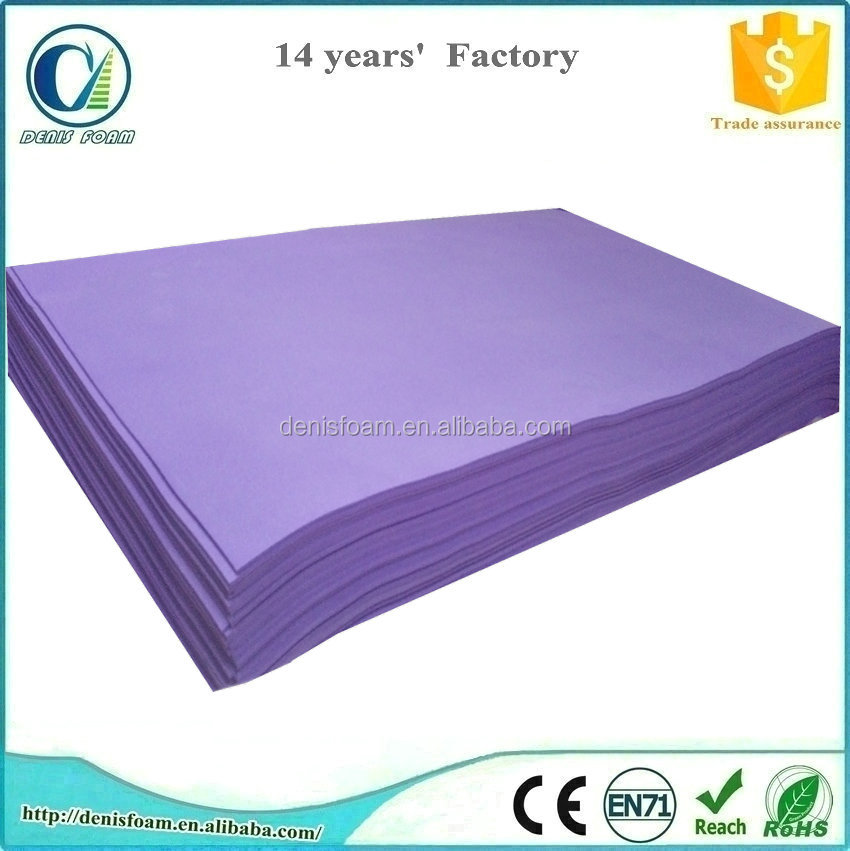 Colorful EVA foam sheet 1mm thick