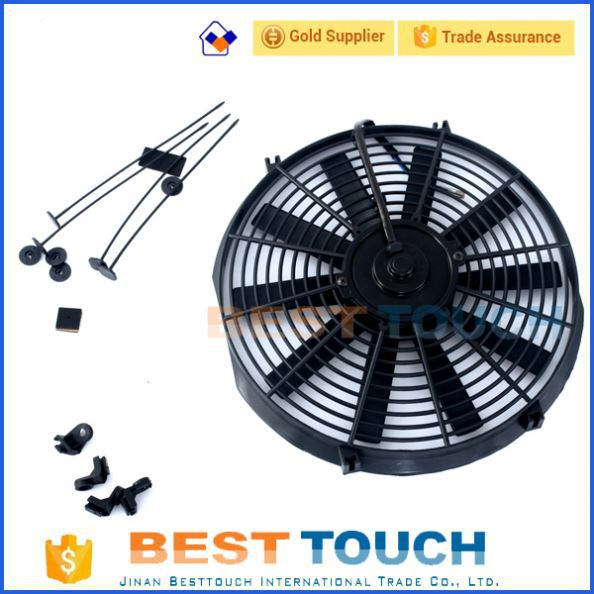 TRX250R TRX250R TRX 250 <strong>R</strong> 88-89 cooling 10'' inch double blades radiator fan for HONDA