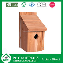 Pet Cages 2016 New product small wood crafts bird house