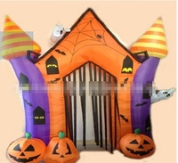 Hot sale inflatable halloween arch, giant halloween inflatables with special shape