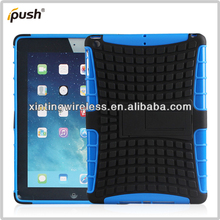 High Quality TPU PC Hybrid Hard Case With Stand For Ipad Air