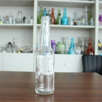 Inquiry 330ml 11oz crown seal and clear flint glass beer bottle cheap bottle Wholesales