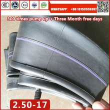 REDOUS Brand High quality motorcycle tyre tubes 2.50-17 250-17 inner tube