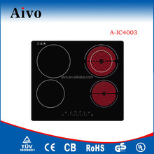 New design 4 burners ceramic induction cooker with CE.CB.RoHs