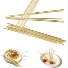 food grade round barbeque bamboo sticks bamboo skewers