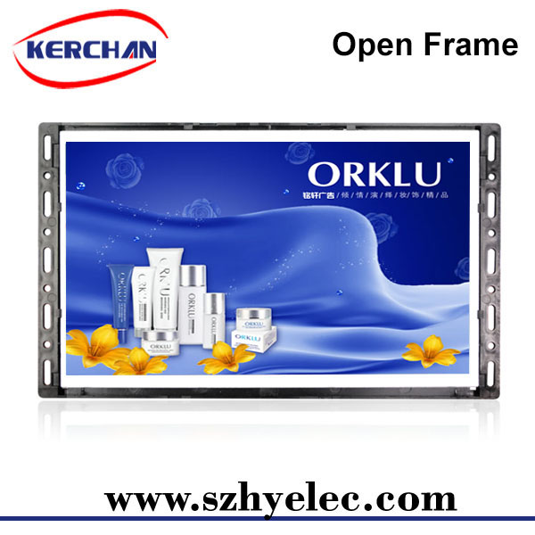10.1 inch open frame LCD video screen for promotions/indoor/ourdoor advertising player