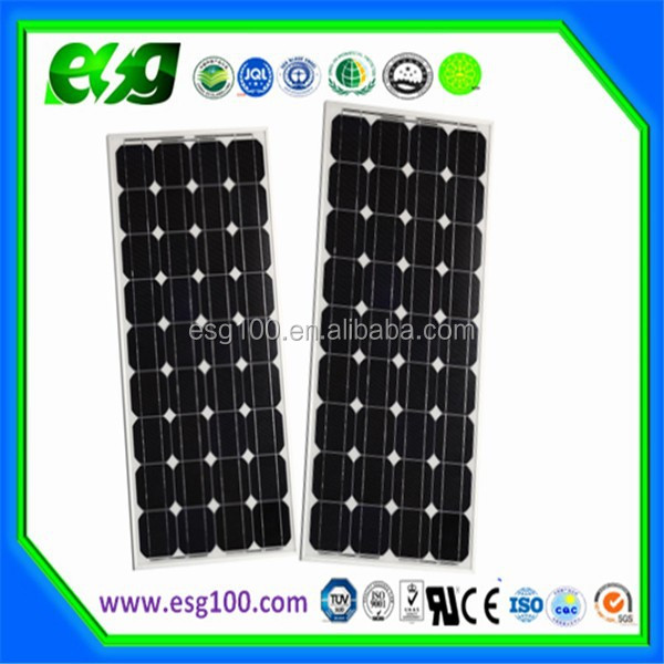 wholesale Price 100w mono solar panel 36v 24v 12V for hot sale