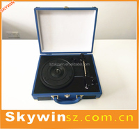 Antique Suitcase Gramophone with USB Slot