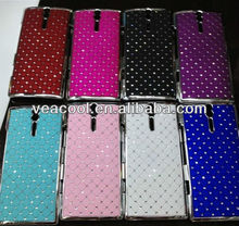Luxury Bling Diamond Crystal Star Hard Case Cover for Sony Ericsson Xperia S Arc HD LT26i Nozomi