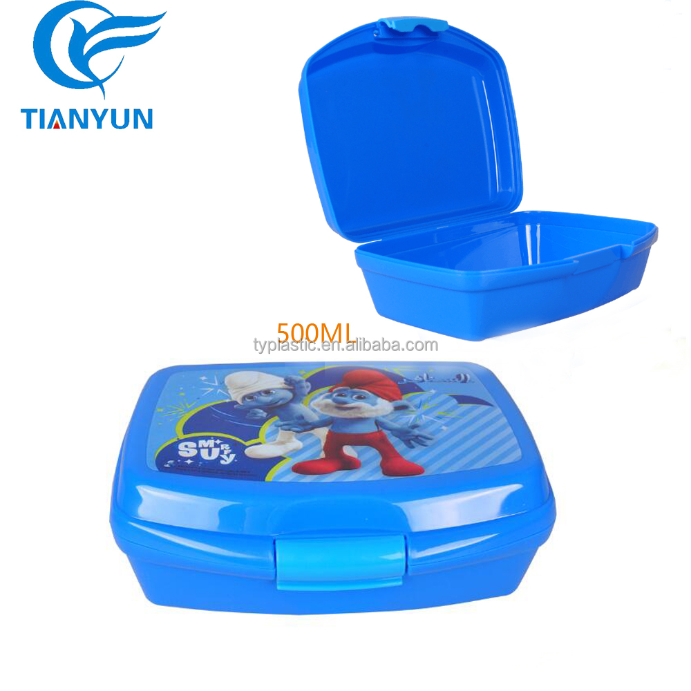 China wholesale sandwich school plastic lunch box for kids