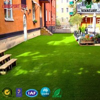 VIVATURF wholesale PU SBR backing Artificial Grass for Landscape Garden Deco