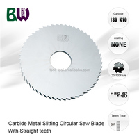 Tungsten Carbide Metal Slitting Circular Saw Blade For Milling Machine