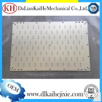 cnc service machine spare part medical device parts plate machining process stainless steel part