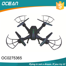 Technology wifi 4 channel 2.4GHz drone personal aircraft with altimeter HD camera