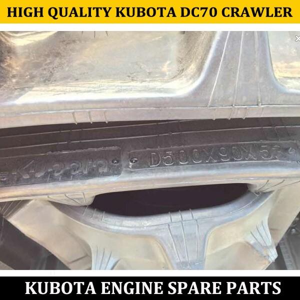KUBOTA DC70 COMBINE HARVESTER RUBBER CRAWLER FOR FARM