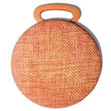 Wireless mini and round bicycle speaker with Fabric case and tf card slot