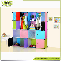 Modern Bedroom Set Clothes Cabinet Kids Bedroom Furniture plastic wardrobe cabinet