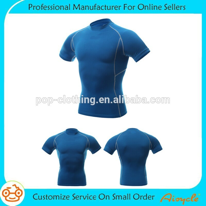 Men gym shirt man t-shirt muscle men t shirt of American size and Europe size