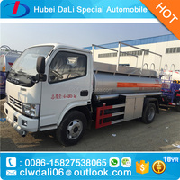 Dongfeng used military truck fuel tank trailer for sale