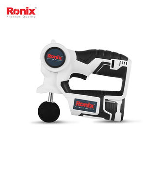 Ronix New Design Massager massage gun Sports Fitness Tools cordless Samsung battery muscle massage gun model 8802