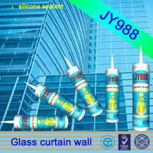 JY988 curtainwall weater-proof pressure sensitive adhesive is glass glue