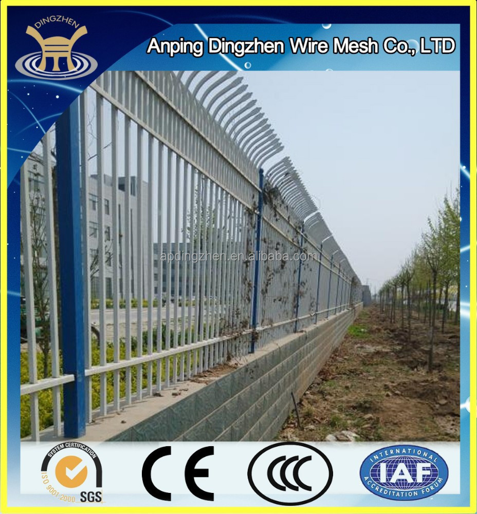 cheap wrought iron fence panels for sale made in China factory with competitive price