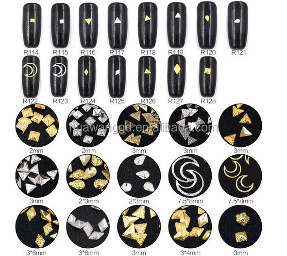Shiny Mini frosted rivets nail art! Alloy grind arenaceous rivet nail art!wholesale