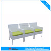C - 2009 power coated aluminum outdoor rattan arm chair