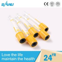 sterile free size disposable vacuum blood collect tube