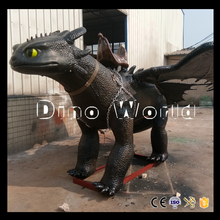 DW-8990 2017 New design dragon animatronic Toothless