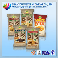 Food grade plastic bag for chips/thermal packaging pouch