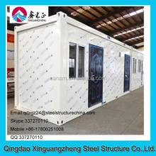 20ft cheap and keep warm container refugee house