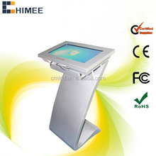 22 inch lcd interactive multi touch table information desk