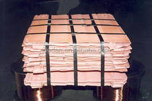 high grade 99.99% Copper Cathodes with factory price