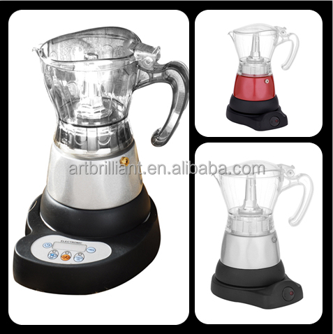 Electric unique usb coffee maker 110V with ABS plastic housing
