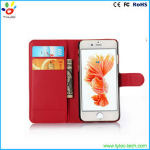 Card holder attach to the back of smart phone case leather with high quality for iPhone