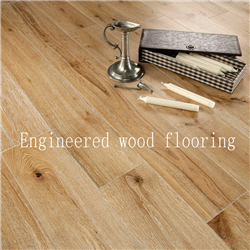 AB grade prefinished handscraped surface Asian walnut solid wood flooring