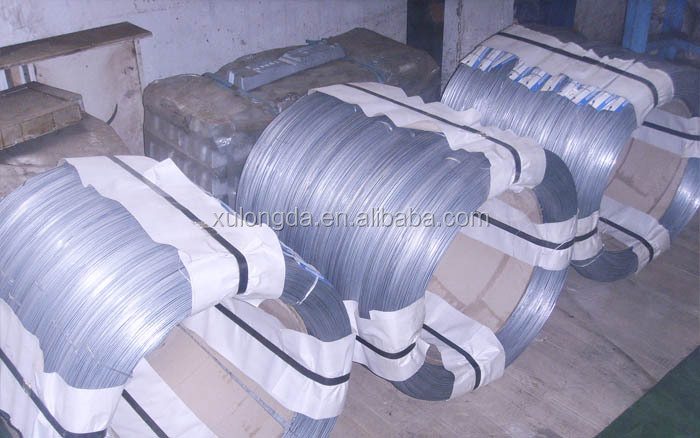 Hot Dipped Galvanized Galfan <strong>Steel</strong> Wire(Zn&Al Alloy)/Manufacture Supplying Directly