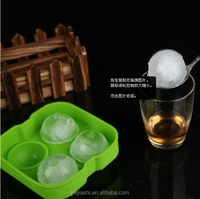 Food Grade Silicone Ice Ball , Silicone Ice Ball Mold , Whisky Ice Ball Maker