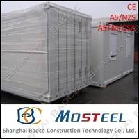 assemble 3 bedroom shipping pre-made container house
