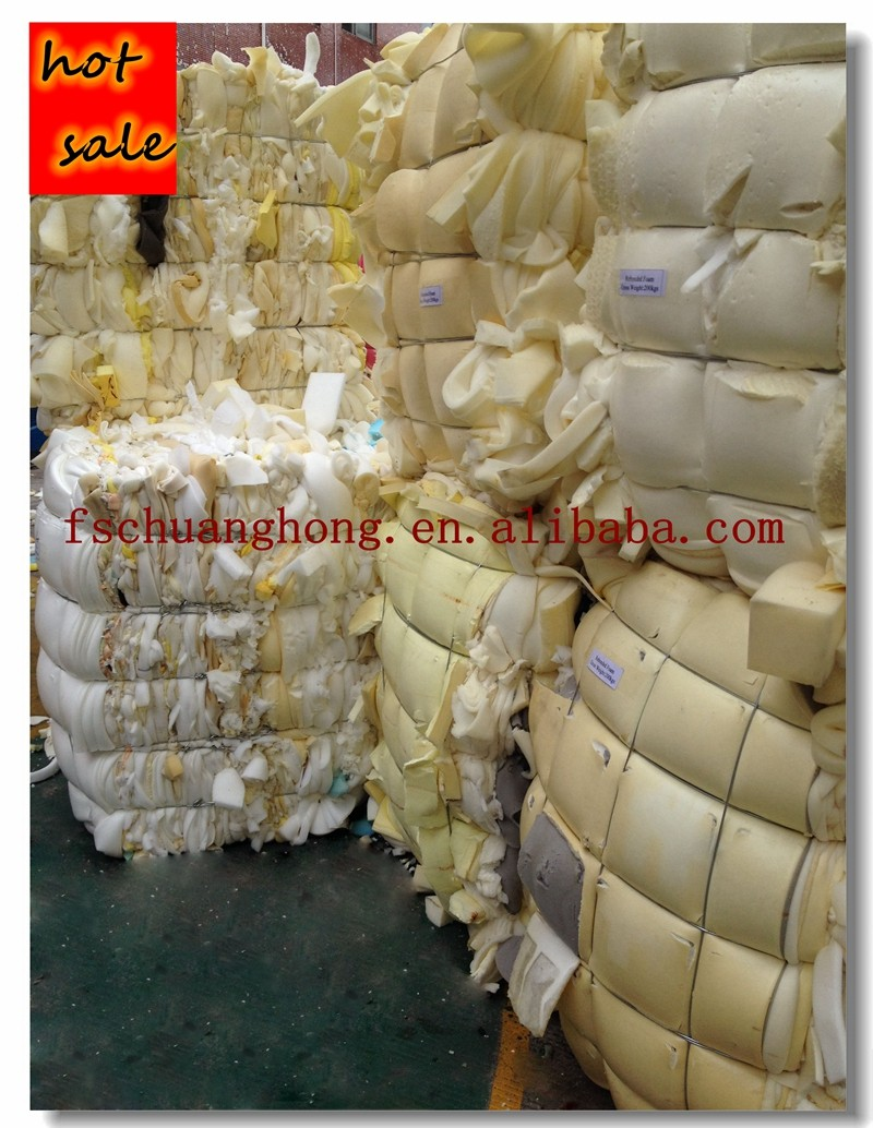 AA dry and clean furniture foam recycled rebonded material